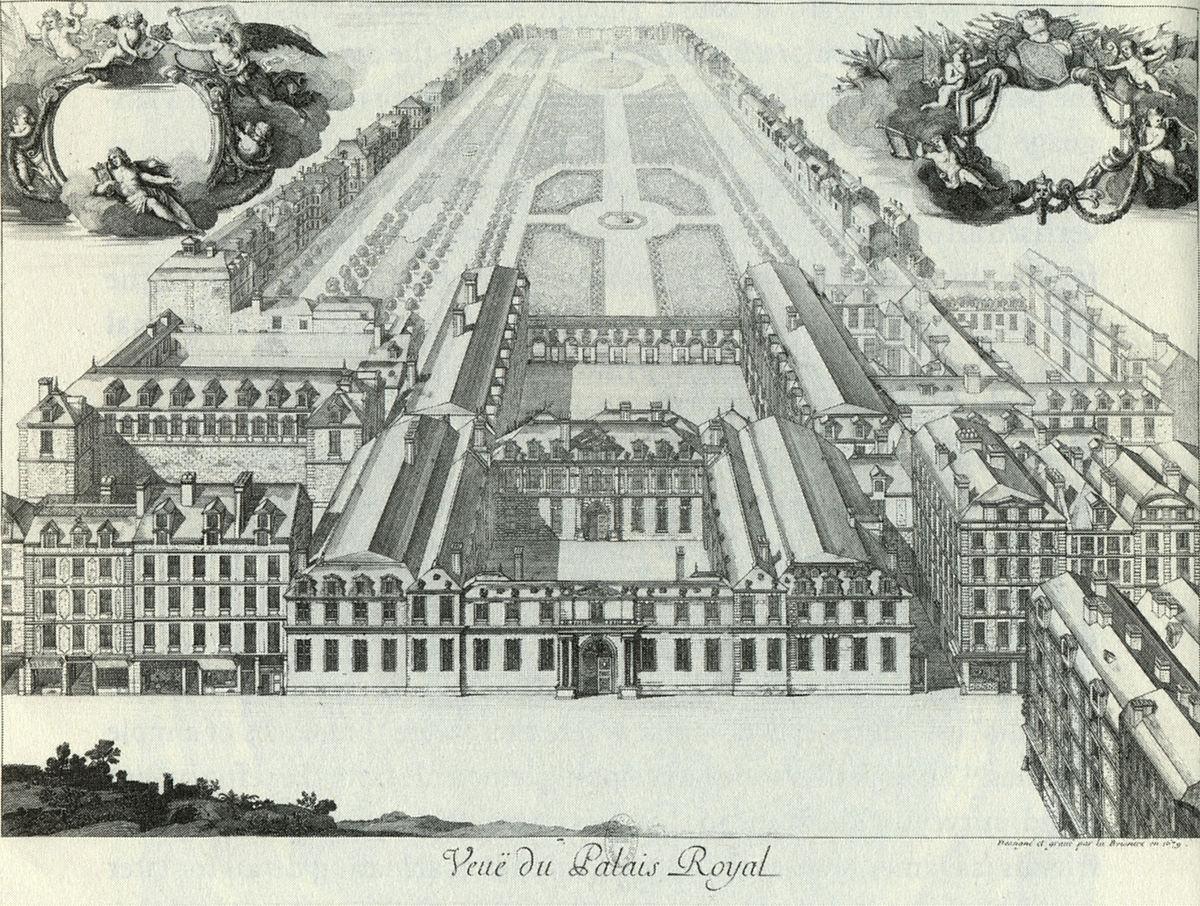 Le Palais-Royal au XVIIe siècle